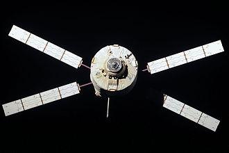 Edoardo Amaldi ATV - Edoardo Amaldi departs from the ISS on 28 September 2012.