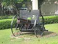 A cannon in front of Hotel Ananda - In the Himalayas, Narendra Nagar, Uttarakhand WTK20150913-IMG 2660.jpg