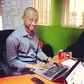 A constitutional success Zubair Abubakar, creator of the Nigerian Constitution app (8102033062).jpg