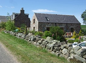 A cottage by Lochton House - geograph.org.uk - 891792.jpg