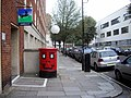 A happy Postbox in Chichester Street, Pimlico - geograph.org.uk - 2522891.jpg