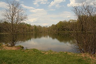 Perry County, Pennsylvania - A lake in Kennedy's Valley, Perry County PA