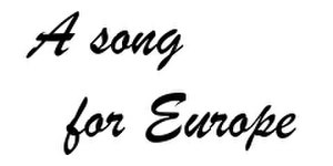 United Kingdom in the Eurovision Song Contest 1957 - Image: A song for Europe