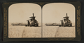 A steam harvester at work cutting a 25 foot swath, California, U.S.A, from Robert N. Dennis collection of stereoscopic views.png