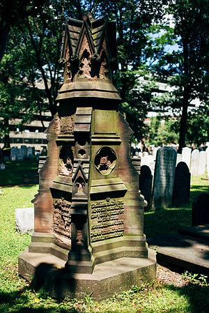Aaron Ogden - Aaaron Ogden Monument, First Presbyterian Churchyard, Elizabeth, NJ