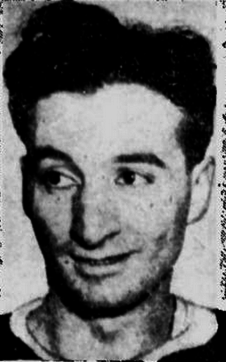 Ab DeMarco - DeMarco pictured in a 1943 newspaper