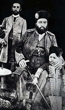 Abdur Rahman Khan In 1897 With Family Members