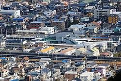 Abekawa Station from Choseniwa.jpg