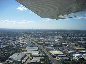 Acacia Ridge, Queensland - Warehouses in industrial areas of the suburb