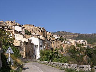 Acciano - Panorama of Acciano