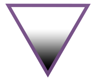 An asexual symbol that originates from the AVE...