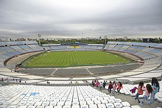 FIFA World Cup - Estadio Centenario, the location of the first World Cup final in 1930 in Montevideo, Uruguay