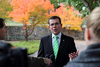 Minister for Trade and Industry (New South Wales) - Image: Adammarshallmp