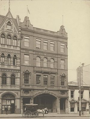 Adelaide Steamship Company - The Adelaide Steamship Company Charles D'Ebro designed building in Melbourne during the early 1900s