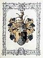 Adelsdiplom - Grau von Grauenfels 1893 - Wappen.jpg
