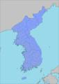 Administrative Map of Korea (April 1, 1914).png