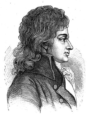 François Antoine de Boissy d'Anglas - Boissy d'Anglas in his youth.