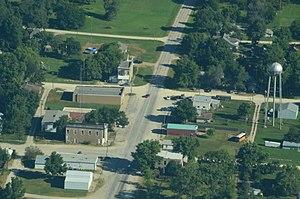 Allen, Kansas - Aerial view of Allen (2013)