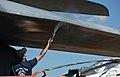 Aerospace Museum aircraft repainting 150429-F-EI321-025.jpg