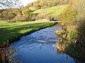Afon Carno from Pont y Dreflan - geograph.org.uk - 1041021.jpg