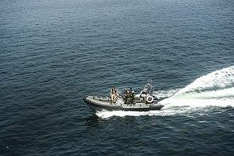 Angolan Navy - An Angolan speed craft
