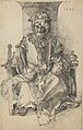 After Albrecht Dürer - An Oriental Ruler Seated on His Throne.jpg