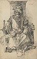After Albrecht Dürer - An Oriental Ruler Seated on His Throne.jpg