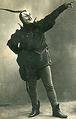 Ahmad Gamarlinskiy as Iblis in Peri Jadu (1912).png