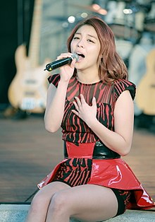 Ailee (South Korean singer) on Oct 11, 2013 (2).jpg