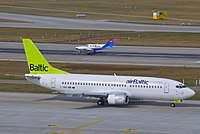 YL-BBS - B733 - Air Baltic