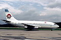 Air Belgium Boeing 737-247; OO-PLH, May 1986 AFX (5288941700).jpg