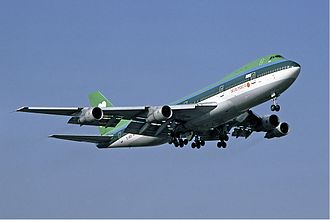 Air Jamaica - Air Jamaica leased a Boeing 747-100 from Aer Lingus in the early 1980s.