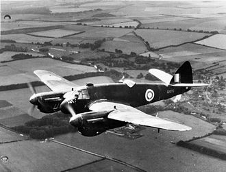 John Cunningham (RAF officer) - Beaufighter Mk II with radar and Rolls-Royce Merlin engines. Cunningham flew the type in 1941 and 1942.