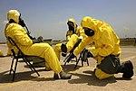 Airmen exercise contamination control procedures 150528-F-II211-185.jpg