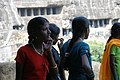 Ajanta Caves, India, Hindu girls.jpg