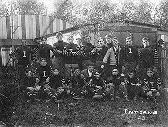 Akron Pros - The 1908 Akron Indians.