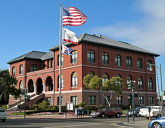 National Register of Historic Places listings in Alameda County, California - Image: Alameda City Hall (Alameda, CA) 2