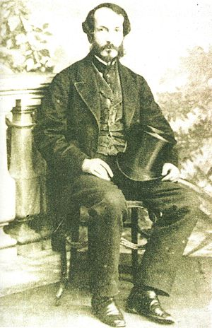 Juan Bautista Alberdi - Alberdi in his young age