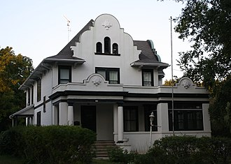 National Register of Historic Places listings in Columbia County, Wisconsin - Image: Albert M and Alice Bellack House