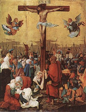 Der Tod Jesu - Christ on the Cross, Albrecht Altdorfer, 1520