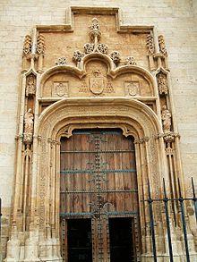 Estilo cisneros wikipedia la enciclopedia libre - Arquitectos alcala de henares ...