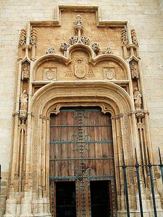 Alcalá de Henares Cathedral - Image: Alcalá de Henares Catedral Magistral de los Santos Justo y Pastor 4