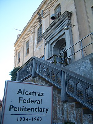 Alcatraz Federal Penitentiary - Entrance