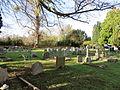 Aldermaston churchyard.JPG
