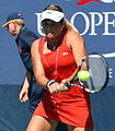 Aleksandra Wozniak at the 2012 US Open 1.jpg
