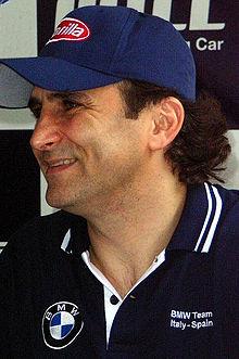 Alessandro Zanardi, il più vincente e rappresentativo dei piloti che hanno corso nel team Ganassi, col quale si è aggiudicato due campionati CART nel 1997 e 1998
