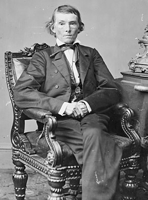William Hayden English - English worked with Senator Alexander H. Stephens on the compromise legislation later called the English Bill.