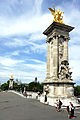 Alexandre III Bridge, Paris 4 July 2014 001.jpg