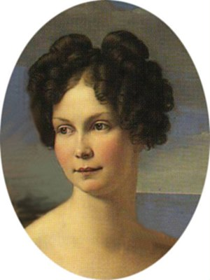 Princess Alexandrine of Prussia (1803–1892) - Princess Alexandrine painted by Friedrich Wilhelm Schadow