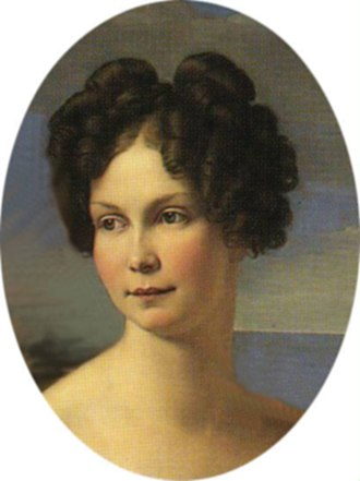 Princess Alexandrine of Prussia (1803–1892) - Princess Alexandrine painted by Friedrich Wilhelm Schadow